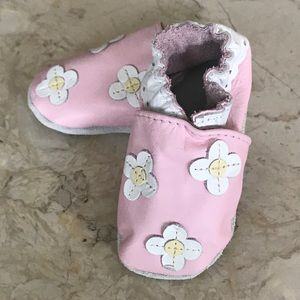 BRAND NEW Robert Baby Leather Booties/Shoes